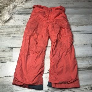 Columbia Snow Pants size 7 peach pink